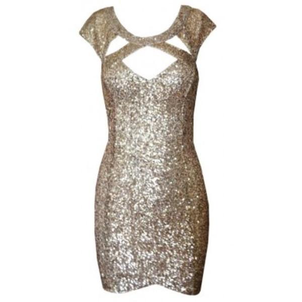 dress gold sequins sequin dress cute dress gorgeous prom dress clubwear