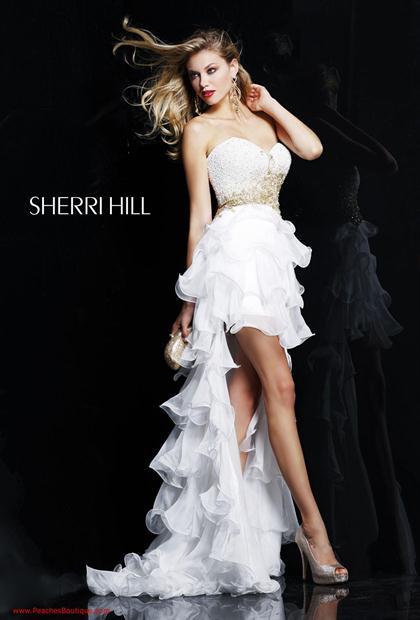 Sherri Hill Prom Dress 3835 at Peaches Boutique
