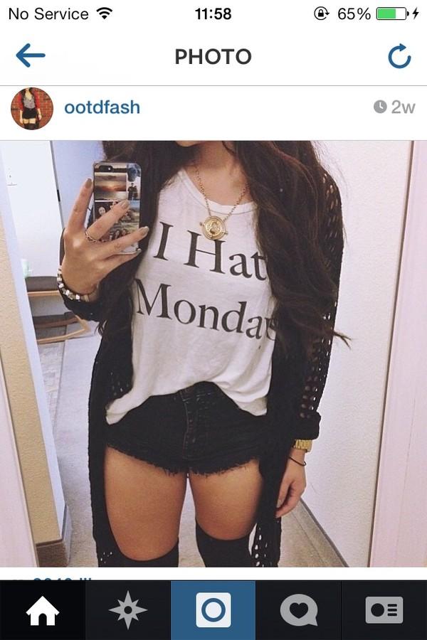 shirt i hate mondays