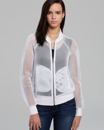 Milly Jacket - Honeycomb Bomber   Bloomingdale's