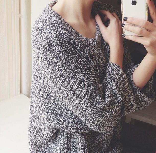 sweater winter sweater oversized sweater oversized grey sweater grey grey grey sweater winter outfits winter outerwear cute