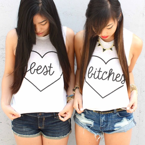 Best Bitches shirts @ kkarmalove shop