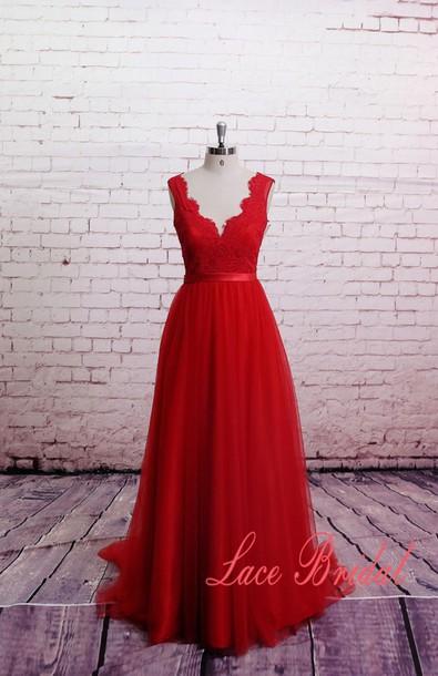 dress prom dress prom red dress red lace dress lace prom dress red carpet dress
