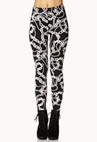 Luxe Chain Leggings | FOREVER21 - 2073439998