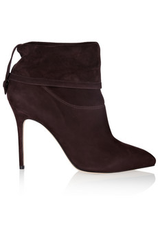 Brian Atwood Adrienne suede ankle boots - 54% Off Now at THE OUTNET