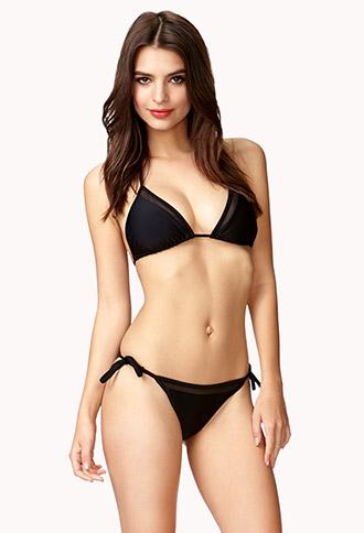 Mesh String Bikini Bottom | FOREVER 21 - 2039642842