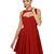 BB Dakota Kassia Dress - Taffeta Dress - Pleated Dress - Red Dress- $89.00