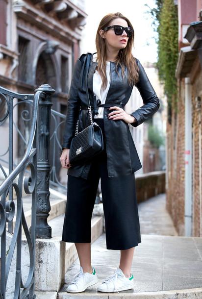 the fashion fruit blogger culottes leather