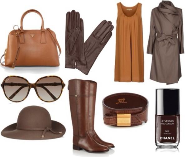 dress bag coat sunglasses shoes
