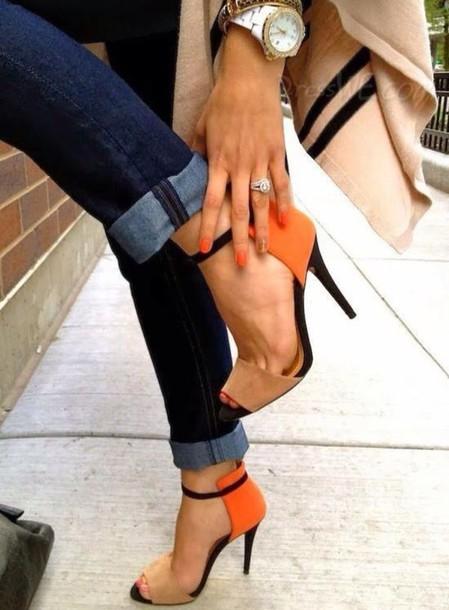 shoes heels jewels