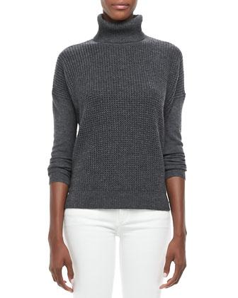 Theory | Aldanta Waffle-Rib Cashmere Sweater - CUSP