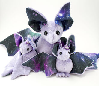 home accessory pretty sweet toy soft toy bat cosmic universe kawaii