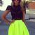 SABO SKIRT Neon Tulip Skirt - $48.00 ($20-50) - Svpply