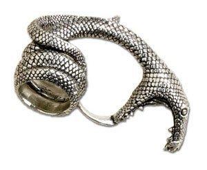 Amazon.com: Adder Bite Ring Size N, US 6.5 by Alchemy Gothic, England: Jewelry