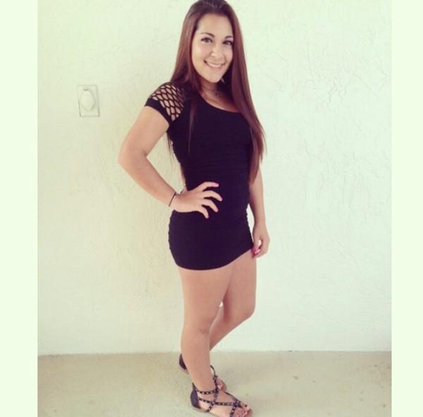 dress black dress bodycon