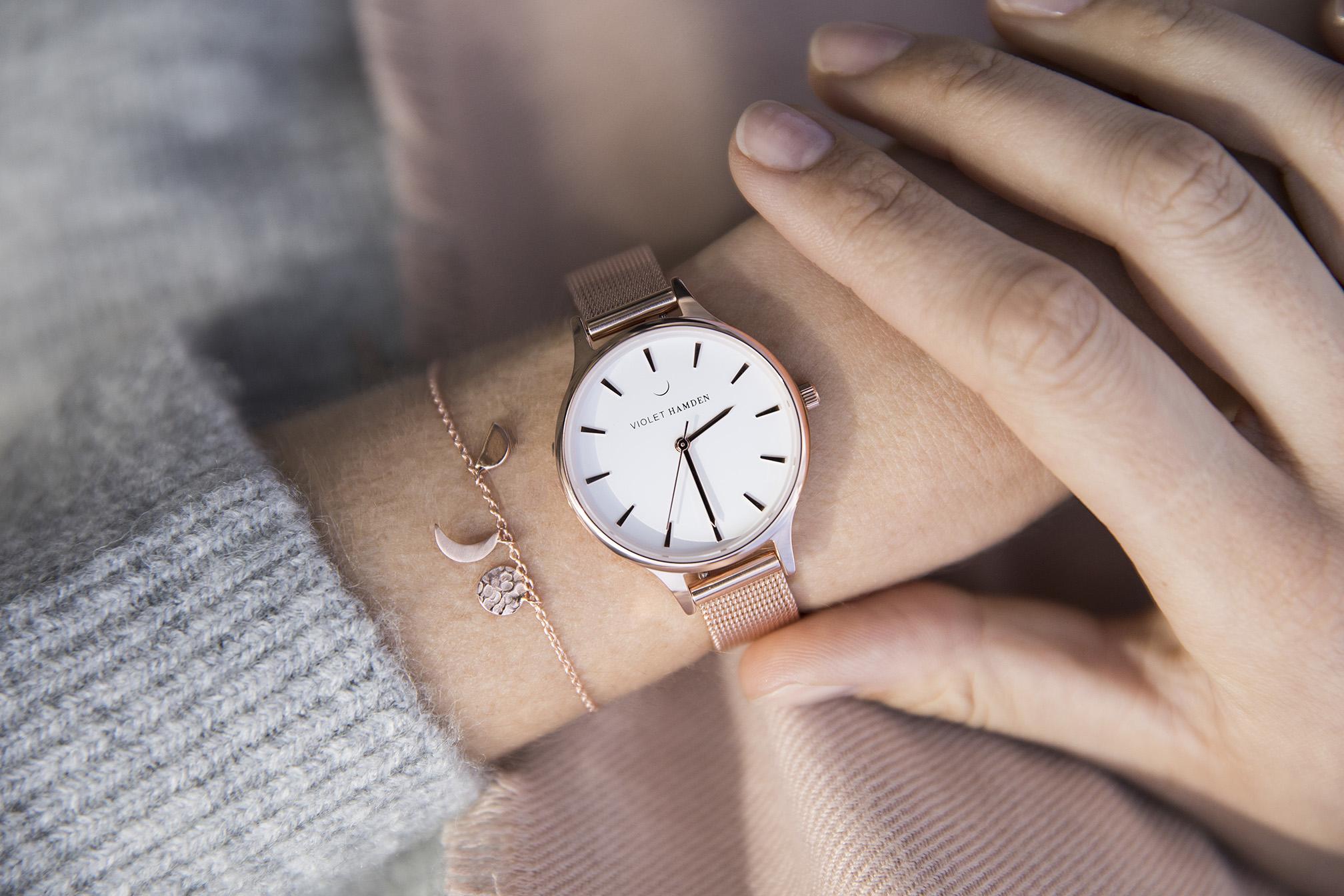 Welp Violet Hamden   Dames Horloges en Sieraden QC-74