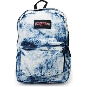 Jansport Denim Daze Acid Blue Backpack - Polyvore