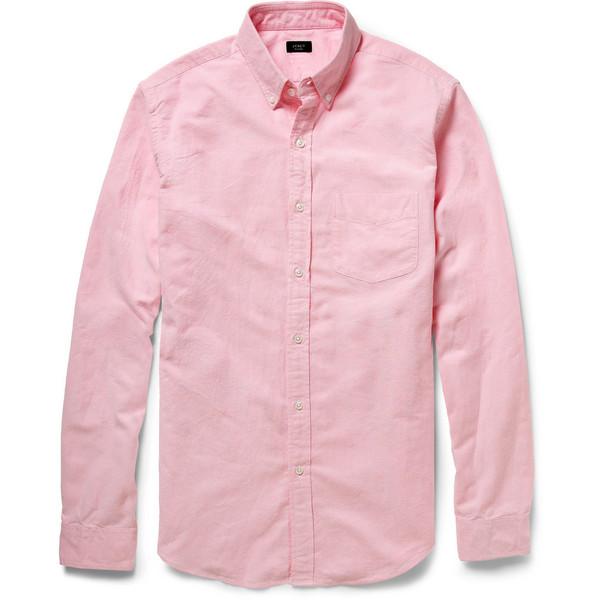 J.Crew Cotton Oxford Shirt - Polyvore