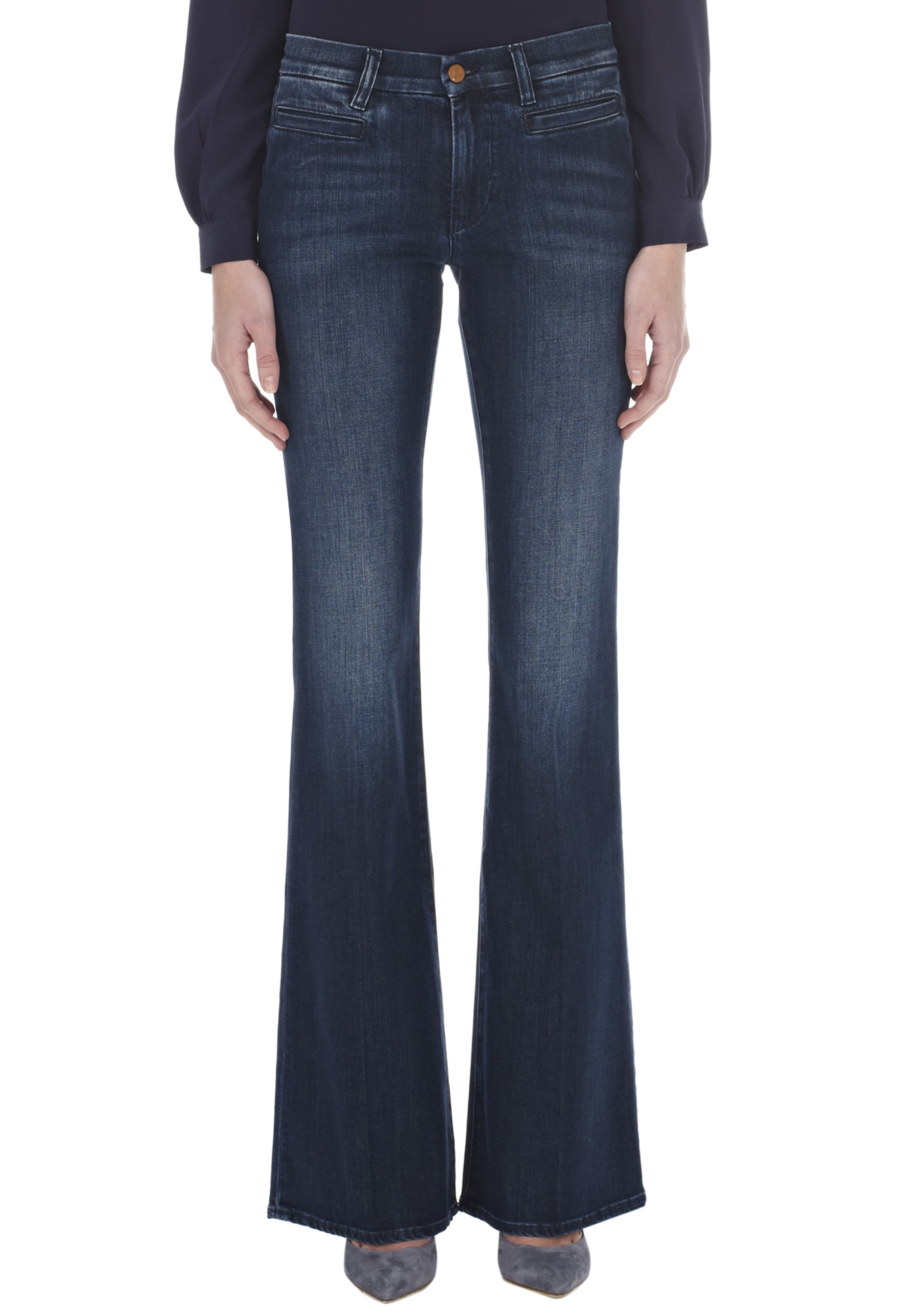 The MARRAKESH Jean - HIGH RISE, KICK FLARE  - Bond - MiH Jeans