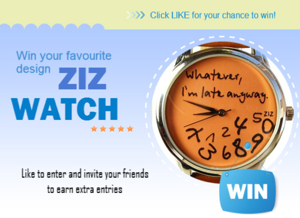jewels ziziztime ziz watch watch watch leather watch unusual watch unique watch cool watch funny watch romantic watch original watch desginer watch contest competition free contest free watch free competition free for free
