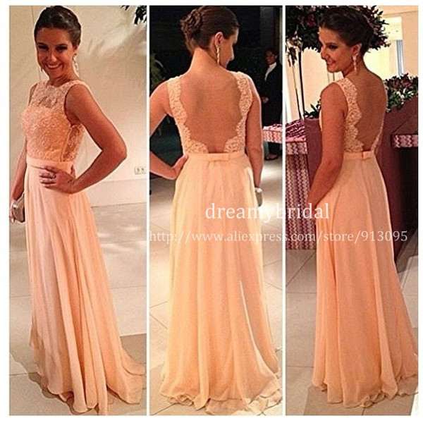 dress long bridesmaid dress