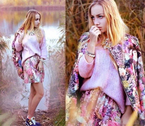 jacket aksinya air blooming jacket sweater dress jewelry ukraine