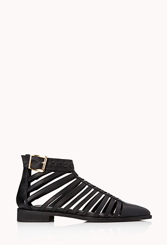 Must-Have Woven Booties | FOREVER21 - 2000108111