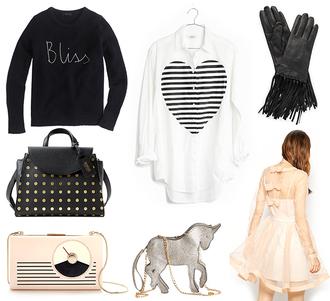 keiko lynn blogger gloves bag leather gloves