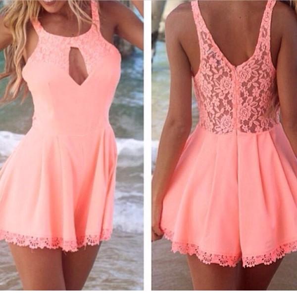 dress jumpsuit romper pink dress pink summer dress summer style summer outfits shorts