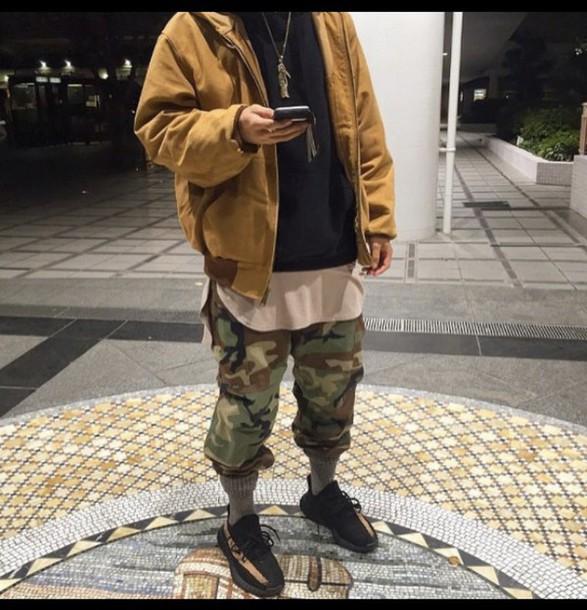 coat yeezy kanye west streetwear menswear mens jacket style hype oftd ootd