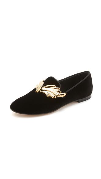 slippers velvet shoes
