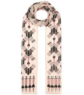 love scarf silk