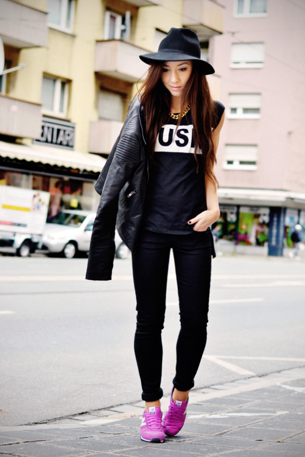 flirting with fashion jacket t-shirt jeans shoes hat jewels