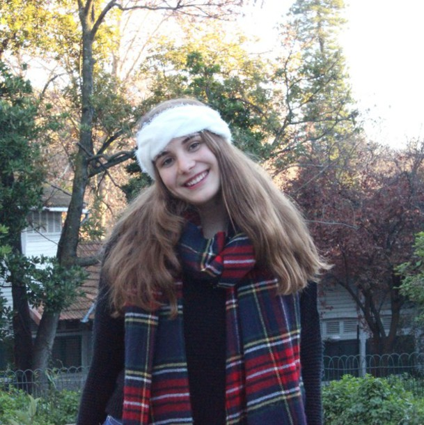 scarf peace friends girl princess shorts blouse cardigan fashion
