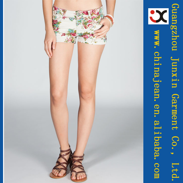 mode sexy heiße denim shorts frauen blume jeans jxs22049-Jeans-Produkt ID:1479802231-german.alibaba.com