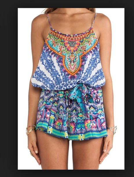jumpsuit romper dress shorts