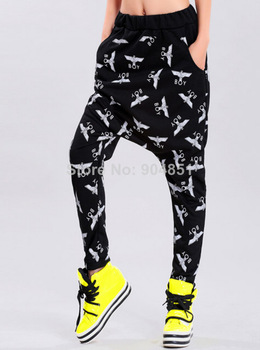 Drop Shipping Outdoors 2014 spring Women Loose harem pants casual Personalized hanging crotch pants Drop crotch pants Sportswear-in Pants & Capris from Apparel & Accessories on Aliexpress.com