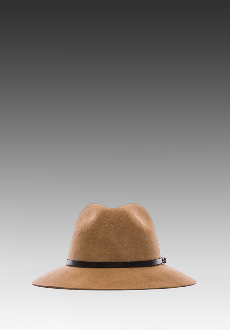 ANINE BING Bohemian Hat in Taupe at Revolve Clothing - Free Shipping!