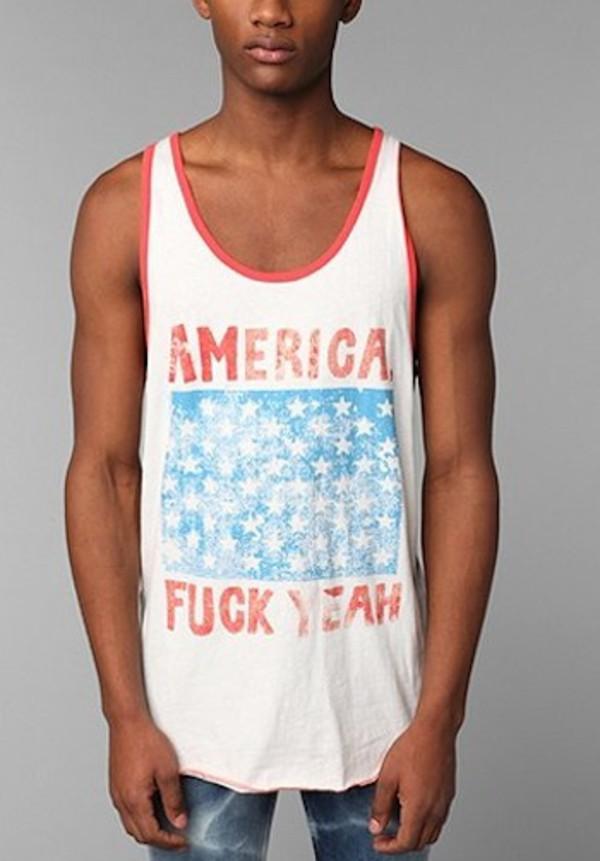 tank top top topshop mens t-shirt