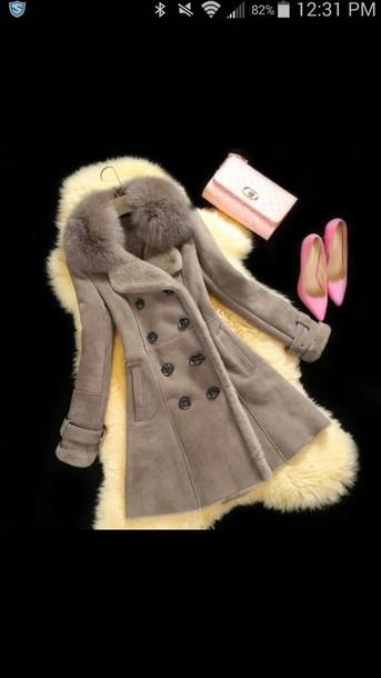 coat wallet shoes