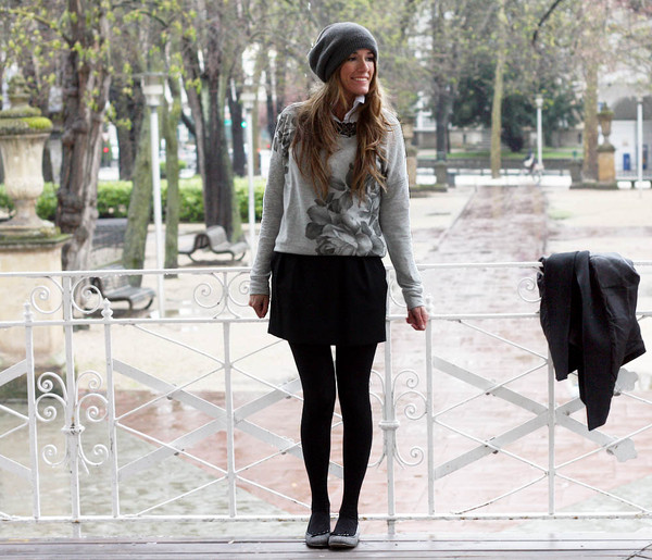 rebel attitude sweater skirt hat t-shirt jewels