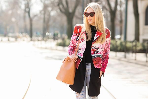 cheyenne meets chanel jacket bag jeans shoes sunglasses