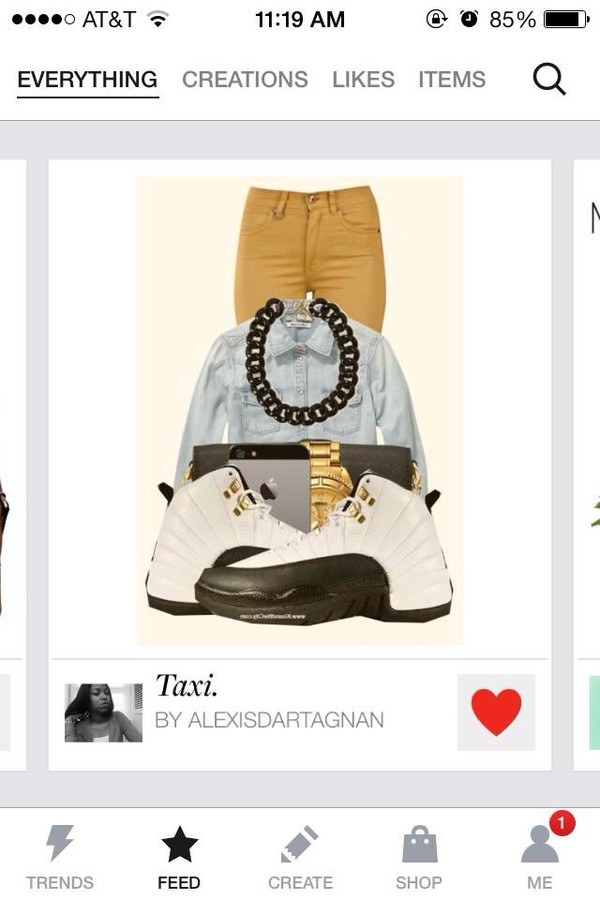 shoes taxi jeans jewels