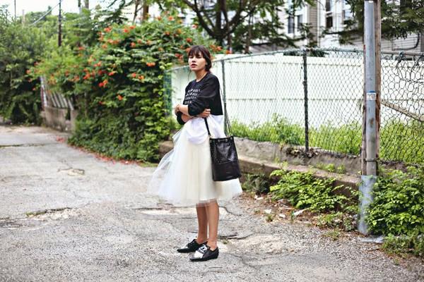 natalie off duty skirt shoes bag jewels