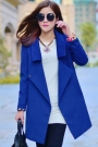 Fashion Notched Collar Coat - OASAP.com