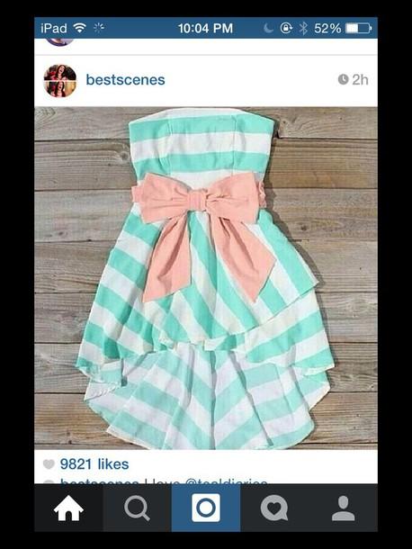 dress bow dress