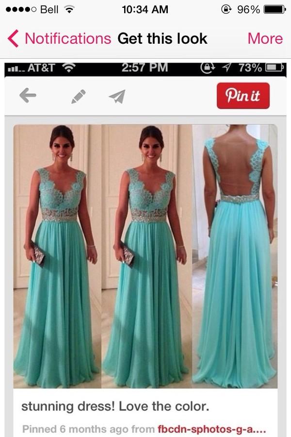 dress prom dress graduation dresses lace dress blue dress flowing dress