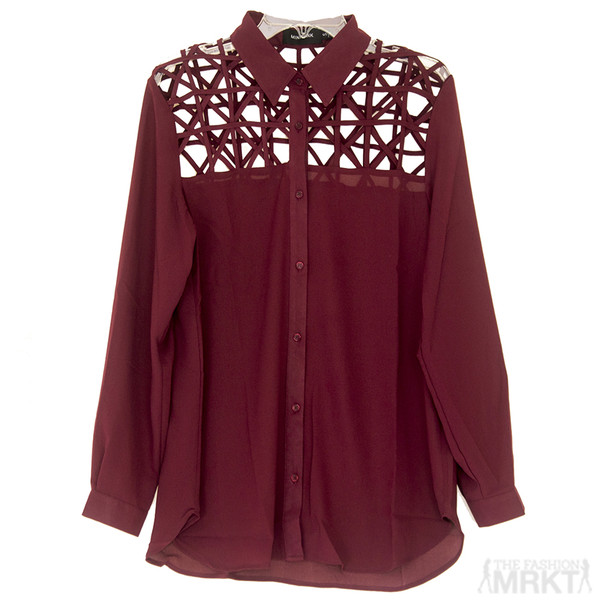 blouse minkpink mink pink minkpink blouse minkpink web of lies blouse web of lies blouse webofliesblouse minkpink top burgundy blouse designer blouse burgundy designer blouse online boutique women's fashion boutique fashion boutique streetstyle clothes shopping clothes blouse
