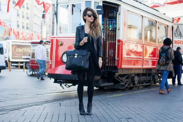 scent of obsession dress jacket bag shoes sunglasses