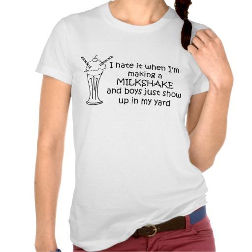 Milkshake Shirt - Zazzle.com.au
